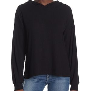 PST BY PROJECT SOCIAL TWren Cozy Rib Hoodie In Black size XSMALL